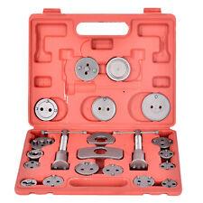 22pc Universal Caliper Tool Kit Case Wind Back Disc Brake Pad Piston Compressor#