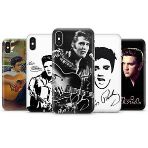 ELVIS PRESLEY PHONE CASES & COVERS FOR IPHONE 5 6 7 8 X 11 SE 12 PRO MAX