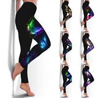 Damen Yoga Gym Fitness Hose Sport Hosen PUSH UP Jogginghose Sporthose Leggins