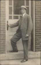 Dayton Post Office Mr. Bowman (Written on Back) OHIO??? Real Photo Postcard
