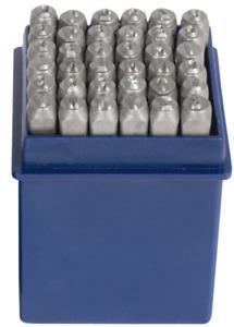 08820L SW-Stahl  Schlagzahlen und Buchstaben 36 tlg. 0-9 und A-Z