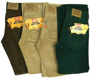 LOT Vintage 70s Levis 716 Corduroy Pants 25w 27w Deadstock NOS Youth/Womens/Men