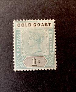 Gold Coast 1898 Scott 32 SG 31 Mint Hinged MH M/M