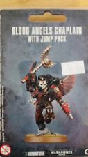 WH40K Space Marine BLOOD ANGELS CHAPLAIN With Jump Pack, Death Company Commander