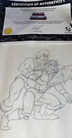 Masters of the Universe Animation MOTU Production HE-MAN HAND DRAWN Sketch CERT