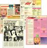 IVANA SPAGNA - 1988/1989 LOTTO DI ARTICOLI CLIPPINGS
