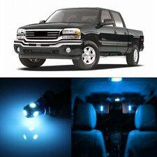 17 x Ice Blue LED Interior Light Package For 1999 - 2006 GMC Sierra + PRY TOOL