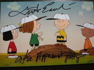 LINDA ERCOLI as PEPPERMINT PATTY Hand Signed Autograph 4X6 Photo -CHARLIE BROWN