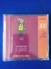New Pfaff 300 Embroidery Machine Design CardCreative Card 2140 ABC Teddy Floral