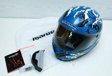 Marushin Full Face Helmet 999 RS Takanami Blue Size S