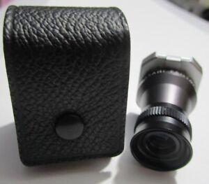 Asahi Pentax Clip-On Flip-Up Viewfinder Magnifier w Case NMint Camera Eyepiece