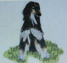 Afghan Hound Bath Hand Towel Set  00006000 Embroidered