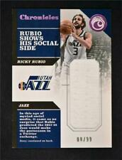 2017-18 Chronicles Swatches Pink #CS-RRB Ricky Rubio /99