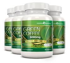 Green Coffee Bean Pure 6000mg 20% CGA 360 Diet Capsules Evolution Slimming