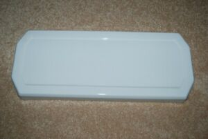 Case Robinson #4  White Toilet Tank Lid - FLAWLESS, SANITIZED Dated Dec 4, 1936