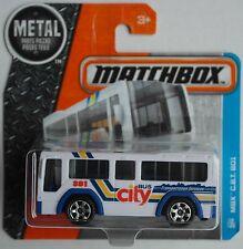 Matchbox - City Bus / MBX C.B.T. 801 weiß/blau Neu/OVP Verpackungsvariante
