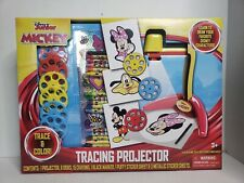 Mickey  DRAWING,TRACING PROJECTOR W/ DISCS,MARKER,& CRAYONS,KIDS 3+,NEW