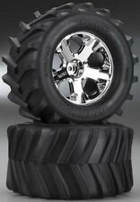 """Traxxas 6771 Tires/Wheels Assembled Glued 2.8"""" (2) Stampede 4x4"""
