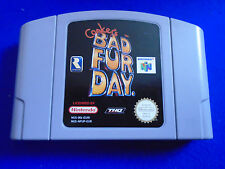 N64 **CONKER'S BAD FUR DAY Conkers Rare Nintendo Game Cart PAL