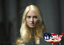 1/6 Emily Browning Head Sculpt Sucker Punch For Hot Toys Phicen Female USA