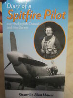 DIARY OF A AUSTRALIAN SPITFIRE PILOT BATTLE BRITAIN & DARWIN WW2 New Book