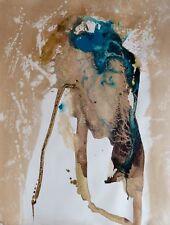 Abstrait au vernis 1 ART moderne grand format tableau dessin Frédéric BELAUBRE