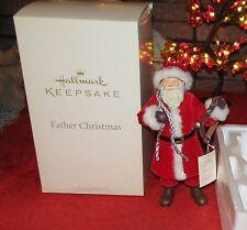 2011 HALLARK KEEPSAKE FATHER CHRISTMAS FIGURINE