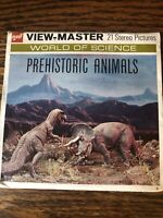 gaf B619 Prehistoric Animals Dinosaurs Science Series view-master Reels Packet
