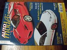 µ? Revue Auto Modelisme n°96 Land Rover Ferrari Enzo McLaren F1 au 1/43e