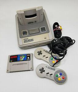 Nintendo SNES Konsole (2-Chip)2x Controller & Super Mario World & Gewährleistung