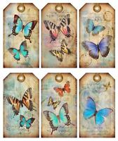 Gift Tags Grungy Steampunk Tags Glossy Finish Card Making Topper