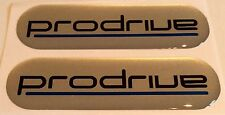 Prodrive / Subaru Impreza -  70mm x 20mm Domed Gel Badges X 2