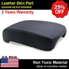 Leather Armrest Center Console Lid Cover Fits Lexus LS 430 LS430 2001-2006 Black