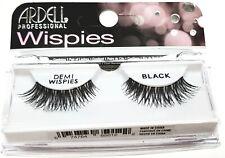 3 X Ardell Demi Wispies Natural Black False Eyelashes 100% Human Hair