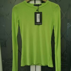 Pretty little thing top size 6 brand new with tags Neon Lime Green