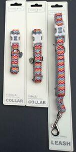 Sydney & Co  Harlequin Dog Collar & Leash Lead Various Sizes