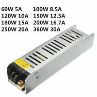 Schaltnetzteil DC12V 5A/10A/30A Netzteil Trafo LED Strip Power Supply Adapter