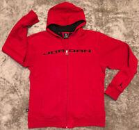 Air Jordan Zip Up Hoodie Sz Boys XL Or Men's Small Jumpman High Quality Bred