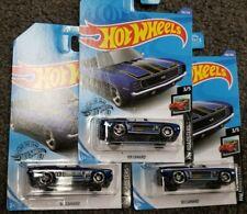 2020 Hot Wheels L CASE Lot of 3 69 Camaro HW Roadsters