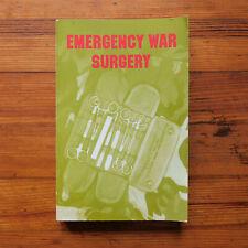 Emergency War Surgery BOOK Paperback 1982 Edition NATO HANDBOOK