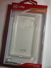 custodia BUMPER celly tpu case LG L5 II E460 OPTIMUS GELSKIN310