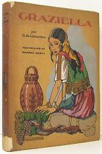 GRAZIELLA Alphonse de Lamartine Illustrated MAURICE BERTY Editions Nilsson 1928