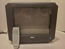 "Vintage - RCA TruFlat SDTV 14F514T 14"" Television CRT TV W/ Remote"