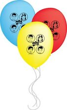 The Wiggles Party Supplies - The Wiggles Group Latex Balloons 30cm Pack of 6