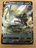 INTELEON V 049/192 — Pokemon TCG Rebel Clash — Mint/nm