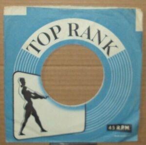 """Top Rank"",""Company Sleeve"",""Original"",""45rpm"",""7inch"",Record"",Vintage,,} )));0>"