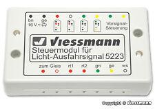 5223 VIESSMANN Control module for colour light departure signals (c9)