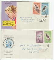 New Zealand  2 x Health covers 1960, 1961