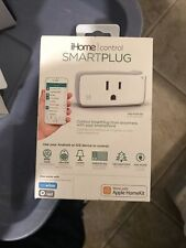 iHome iSp5 Smart Plug: Apple HomeKit Siri, Amazon Alexa, Google, SmartThings
