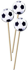 8 FOOTBALL TOPPED PARTY PICKS COCKTAIL STICKS